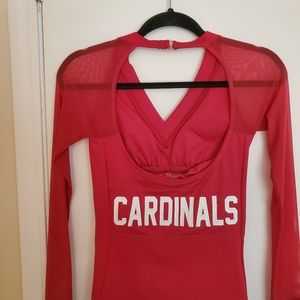 Arizona Cardinals womens mesh sleeve shirt